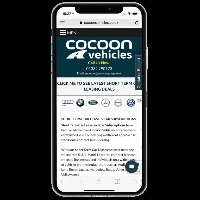 iPhone-Cocoon Website