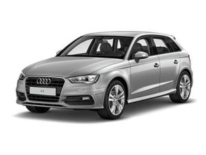 Audi A3 Sportback on UK Car Subscription Service