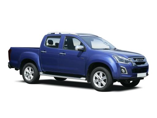 Isuzu D-Max 1.9 Double Cab Automatic Pickup Truck 12 month van lease