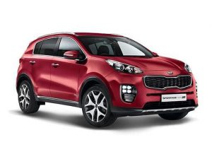 Kia Sportage Estate on UK Car Subscription Service