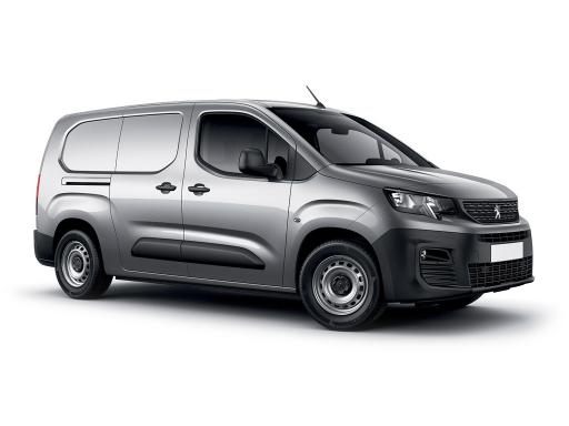Peugeot Partner STD 1000 1.6 BlueHDI 100 Manual Panel Van 6 month van lease