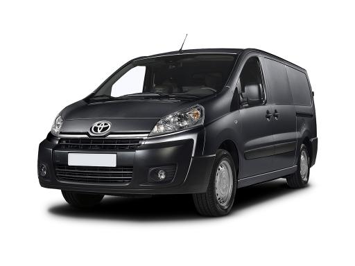 Toyota Proace L1 1.6D 115 Active Manual Panel Van 12 month van lease